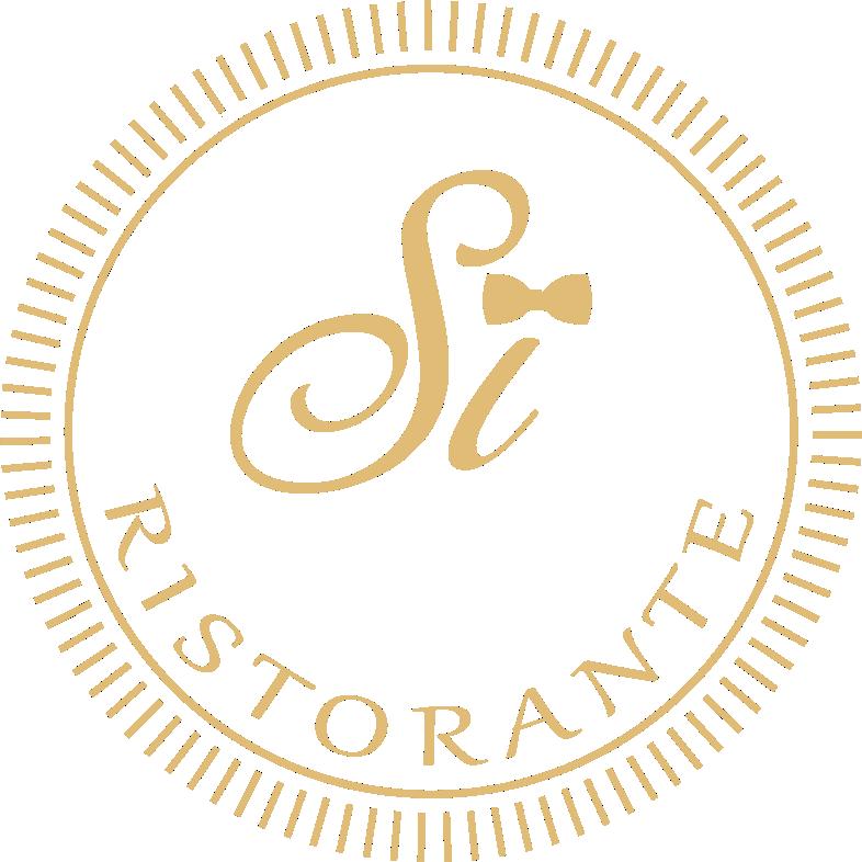 Si-Ristorante. Logo Gold